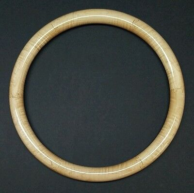"""15"""" Curly Maple Model T Steering Wheel Rim. Beautifully Finished"""