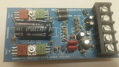 Moose Products Mpi-11 Siren Driver