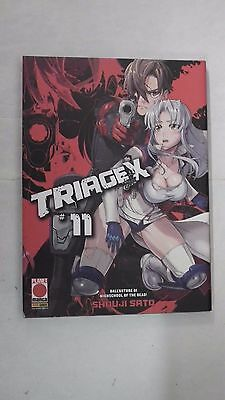 TRIAGE X nr 11 dI SHOUJI SATO PLANET MANGA