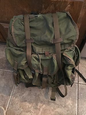US Military Backpack With Frame
