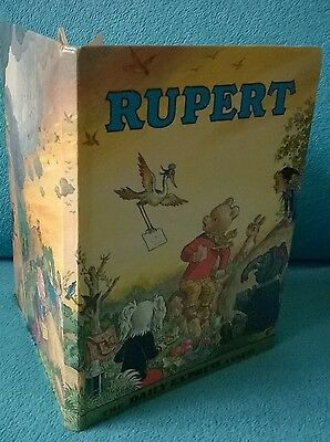 Retro Vintage 70s Rupert Annual 1972 Edition Childrens Picture Book