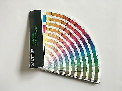 Pantone Process (CMYK) Coated SWOP Color Guide for Graphic Design Print Specs