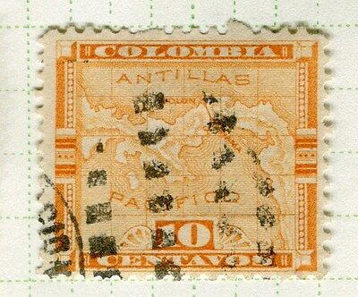 PANAMA;  1892 early classic issue fine used 10c. value