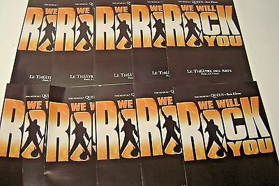 We Will Rock You   -  The Musicial -  13 Programs   Us Premire  Sept. 8, 2004 Pa