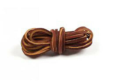Leather Strapping Leather Laces - x 1pair ( 3 Colours ) 120cm