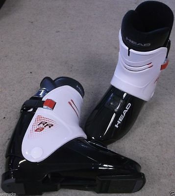 HEAD RR8 BLACK / WHITE REAR ENTRY SKI BOOTS size 27