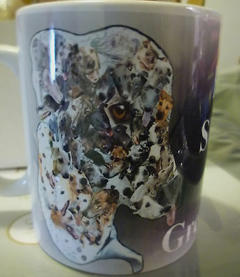 Greyhound Gift Mug Fifty Shades of Grey Hound Greyhound Ceramic Mug % to Charity