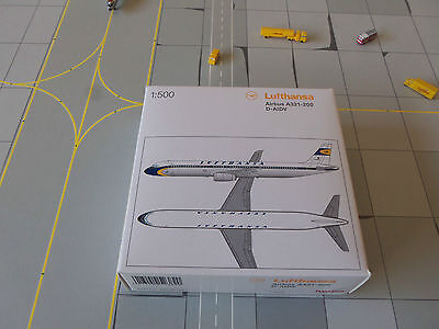 Herpa Wings 523820 Lufthansa  A321 - 231  Limited Edition Retro Livery