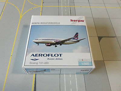 Herpa Wings  505819 Aeroflot   737-400