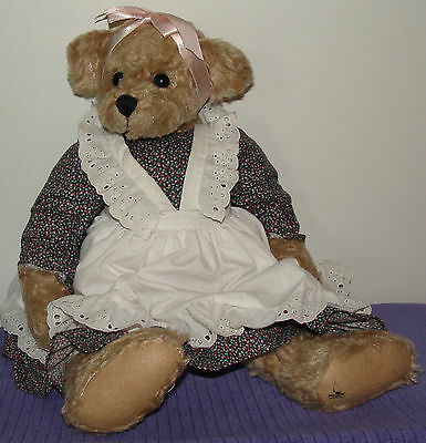 "Ganz Cottage Collectible Bear Kathy Cc604 Mary Holstad 1996 Large 19"" Tall ~ Ap"