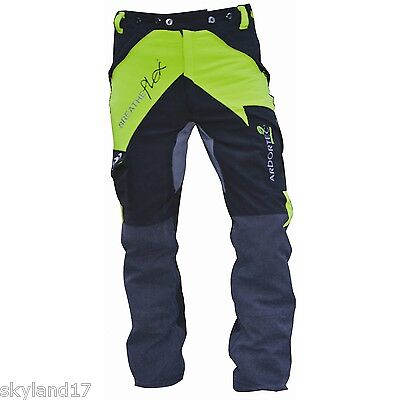 ARBORTEC BREATHEFLEX CHAINSAW TROUSERS TYPE C - Extra Large - LIME