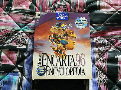 Microsoft Encarta 95 (96) Encyclopedia - READ DESCRIPTION - Enciclopedia - LEER!