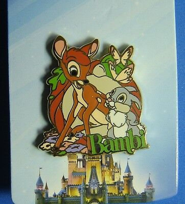 Bambi and Thumper with Butterflies Jerry Leigh Disney Pin OC
