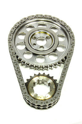ROLLMASTER 0.010in Double Roller Red Series SBC Timing Chain Set P/N CS1040-LB10