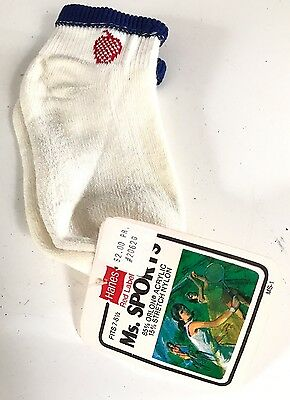 New Vintage Women's Hanes Red Label Ms. Sports Athletic Socks Orlon Sz 7-8.5 Nwt