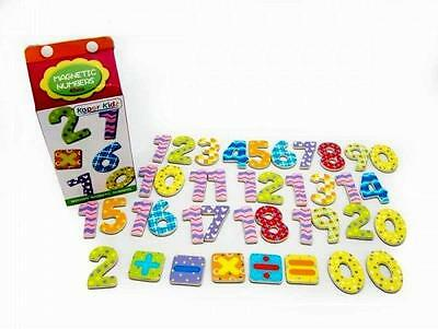 New Wooden Magnetic Numbers 40 Pieces Educational Toys/Gifts