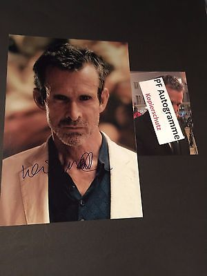 ULRICH MATTHES TATORT IN-PERSON signed 20x30 Autogramm