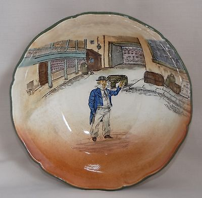Royal Doulton D2973 Dickens Ware CAP'N CUTTLE Bowl