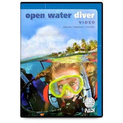 PADI Open Water Diver Training Learn to Dive Course DVD
