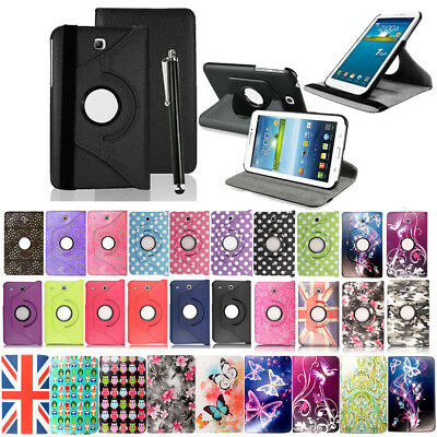 """For Samsung Galaxy Tab 3 7.0"""" T210 P3200 Leather Flip Case Cover Stand"""