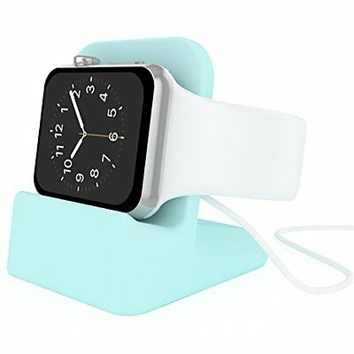 COOL MINT GREEN Stand Charger Charging Dock Station For iWatch APPLE WATCH