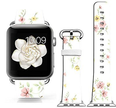 DAINTY PINK FLOWERS Wristband Band Strap Accessories For iWatch 42MM APPLE WATCH
