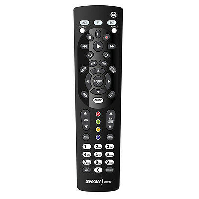 IRC 600 InfraRed Shaw Direct Universal Remote Starchoice Star Choice Motorola