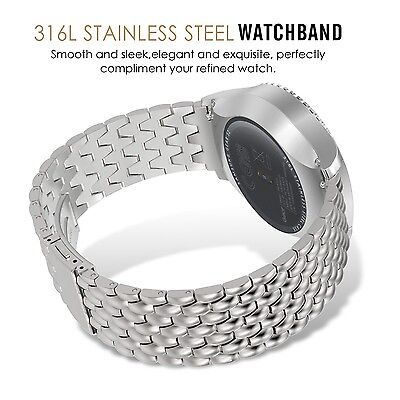 FINE STEEL LINKS Wristband Band Bracelet Strap Accessories For SAMSUNG GEAR S2