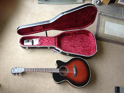 Yamaha Acoustic Electric Guitar CPX-5VS In Hiscox Hard Case