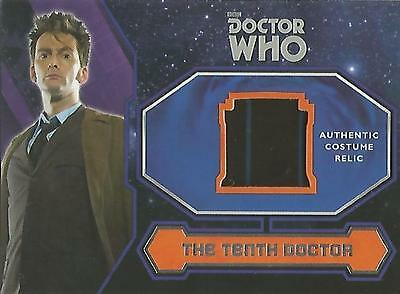 "Topps Doctor Who 2015 - ""Tenth Doctor's Brown Suit Trousers"" Costume Relic Card"