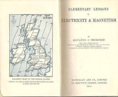 Electricity Magnetism Silvanus P. Thompson