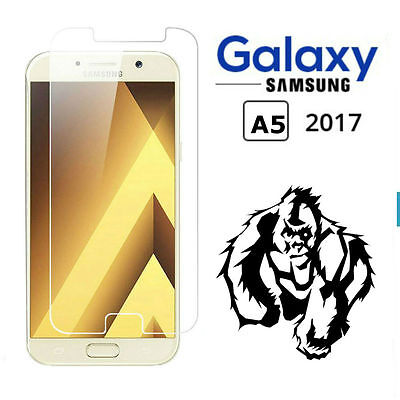 100% Genuine Gorilla Tempered Glass Screen Protector For Samsung Galaxy A5 2017