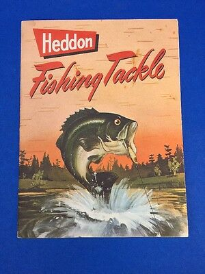 Heddon Fishing Lures Tackle Catalogue 1951 Excellent Condition Original