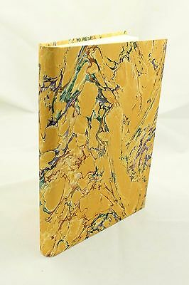 Large Marbled Paper Blank Journal Notebook Diary Sketchbook Recipe Book