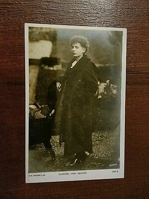 Florizel Von Reuter  American Born Violinist And Psychic Photo Postcard