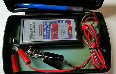 Matco Tools 12v Diesel Glow Plug Engine Tester Analyser For Cars & Trucks