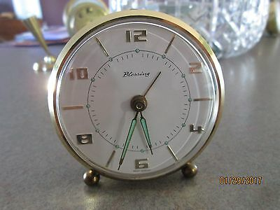 Vintage Blessing West Germany Alarm Clock