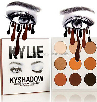 "► ""KYLIE KYSHADOW"" 4 palette! 9color, Eyeshadow Kit 2017 girl (kylie cosmestic)"
