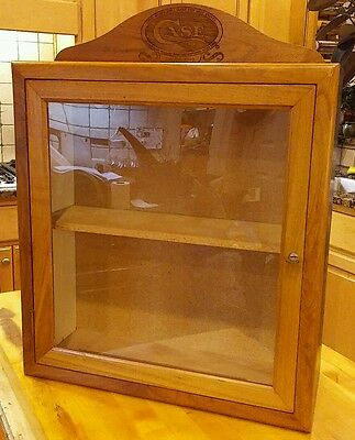 Case XX Knife Dealer Counter Top Display Wood Cabinet