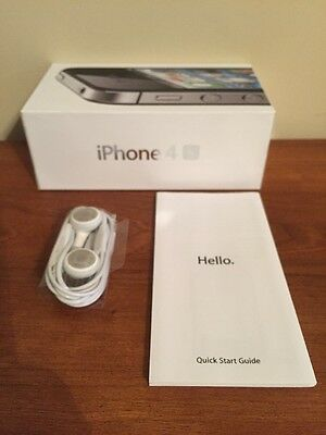iPhone 4s Box, Quick Start Guide & Earbuds ONLY