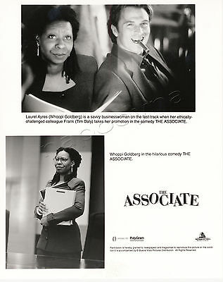 The Associate Movie Stills 1 BW Photo 2 Color Slides +Production Book Whoopi