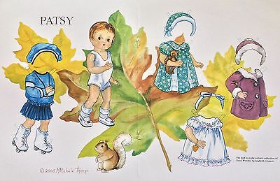 Patsy Doll Mag. Paper Doll, Michele Thorp Artist, 2003
