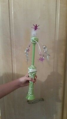 Disney Tinkerbell Light Chaser Spinning Light Fairy Wand Toy