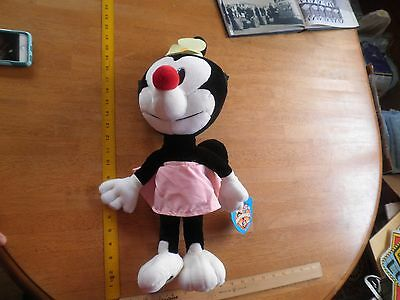 1993 Animaniacs Dot plush doll Clean and Brite NWT 19""