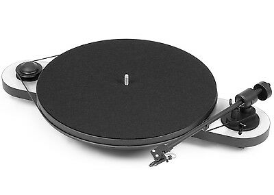 Pro-Ject (Project) Elemental DC Turntable with OM5E Cartridge - White