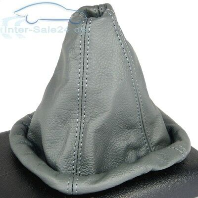 Shift gaiter for VW Golf 2 3 Passat 35i Polo 6N Vento 100% Real leather GREY NEW
