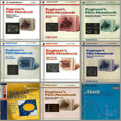 Radio Shack Electronics Engineer Mini Notebook Series 12 in 1 Custom CD  *NICE*