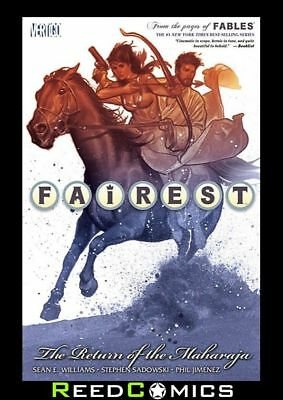 FAIREST VOLUME 3 RETURN OF THE MAHARAJA GRAPHIC NOVEL New Paperback 15-20 Fables