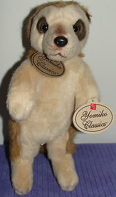 """Russ Yomiko Classics Meerkat 86256 Free Standing 11"""" Tall With Tags ~ Df"""
