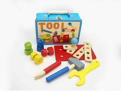 New Wooden Tools Play Set Hammer Screw Driver...........Childrens Toys & Gifts